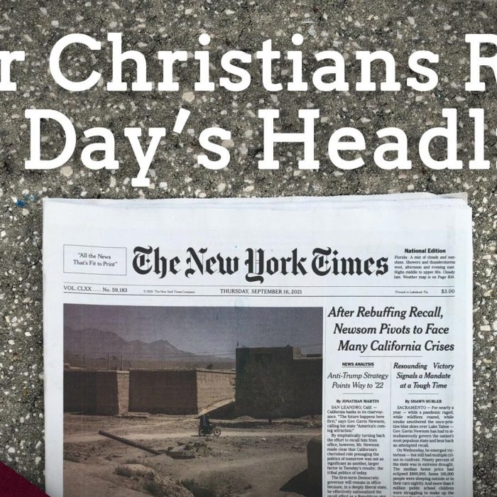 Four Christians Read One Day's Headlines (Ep. 37)
